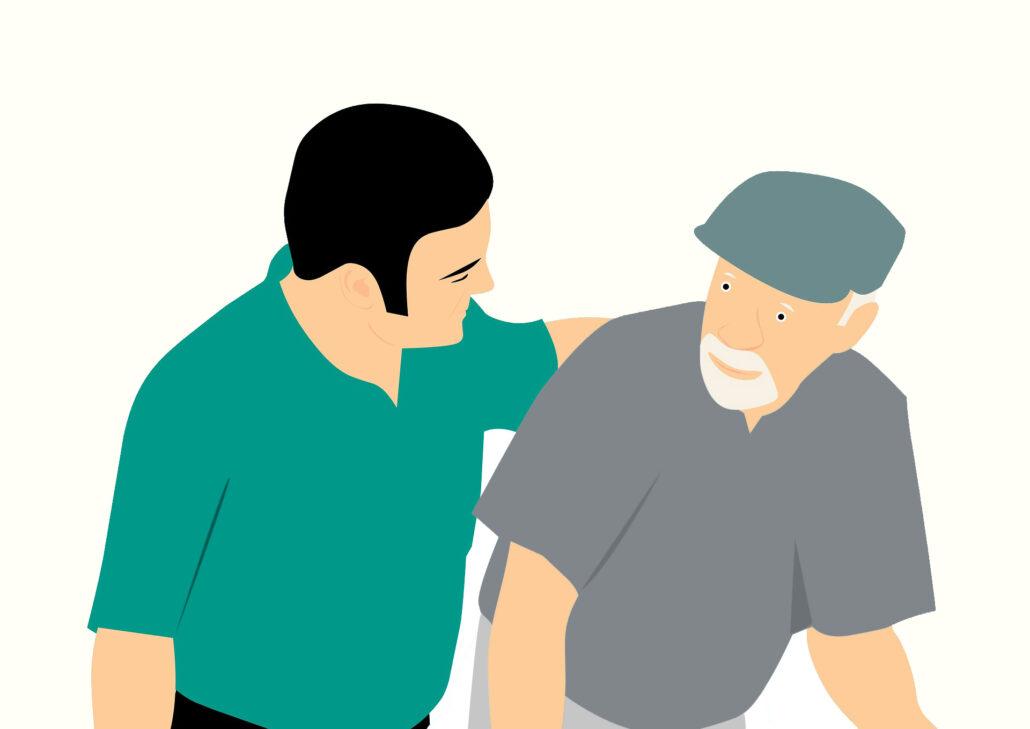 diventa volontario per l'hospice